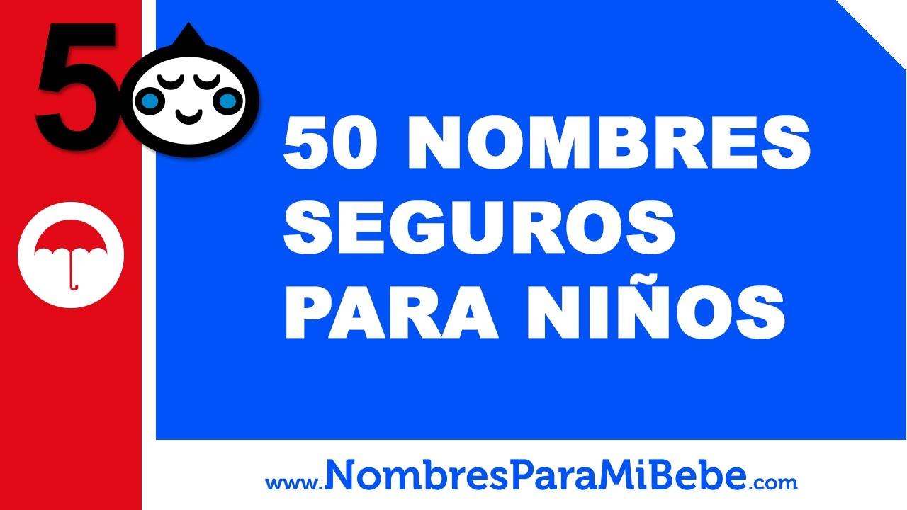 50 nombres seguros para niños - nombres más populares en EEUU desde 1880 - www.nombresparamibebe.com