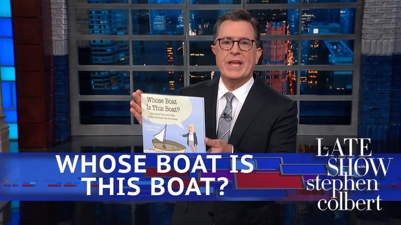 Stephen Publishes REAL BOOK 'Whose Boat Is This Boat?' thumbnail