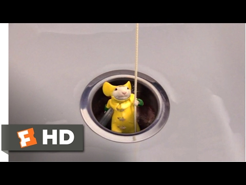 Stuart Little 2 (2002) - Down the Drain Scene (5/10) | Movieclips
