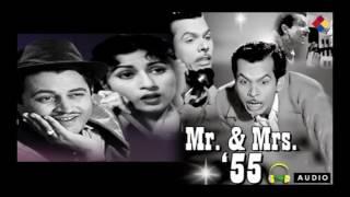 Meri Duniya Lut Rahi Thi Aur Mai Khamosh | Mr. & Mrs. '55 1955 | Mohammed Rafi