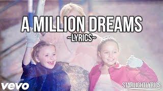 The Greatest Showman - A Million Dreams (Reprise) (Lyric Video) HD