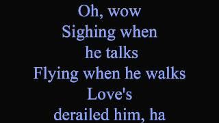 Fa la la la Fallen in love - lyrics