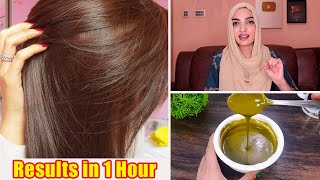 DIY Natural Brown Hair In 1 Hour Super Color Hair Pack Makes Soft, Manageable & Silky