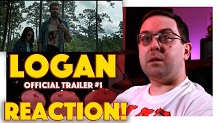 REACTION Logan Official Trailer 1  Hugh Jackman Movie 2017