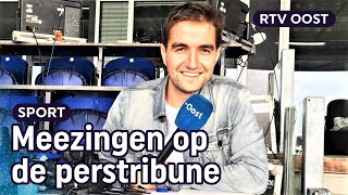 Uniek: met commentator Daniël achter de schermen bij PEC Zwolle en Heracles | RTV Oost