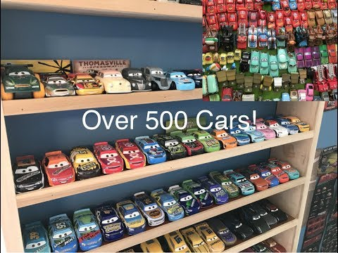 My Entire Disney Cars Diecast Collection!(Over 500! Diecasts, Mini Racers, Disney Store, And More!)