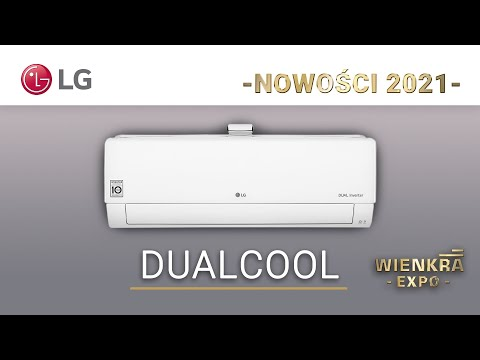Klimatyzator pokojowy LG DUALCOOL | Nowości 2021