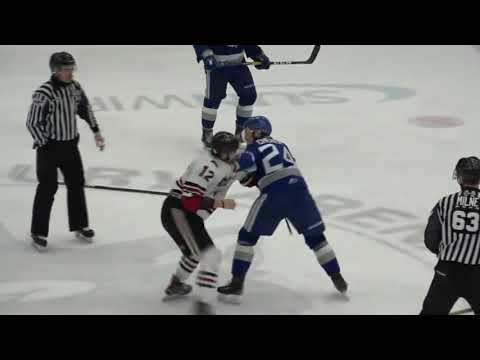 Brad Chenier vs. Keegan Stevenson
