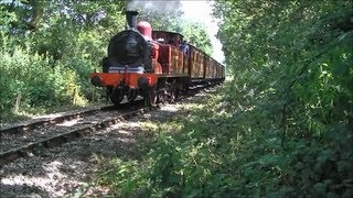 preview picture of video 'Epping-Ongar Railway 30 06 2013  (Metropolitan 1,L150 and other engines).'