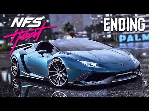 Final Lamborghini Race & Police Chase! (Need for Speed: Heat, Ending)