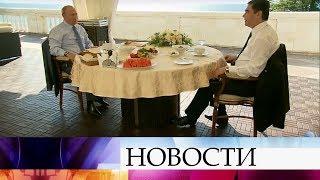 В Сочи Владимир Путин провел переговоры с президентом Туркменистана Гурбангулы Бердымухамедовым.