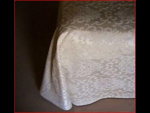 Come fare un copriletto estivo.How to make a simple bed cover