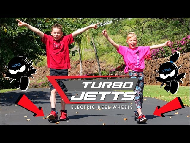 Review: NinjaKidz Try Turbo Jetts