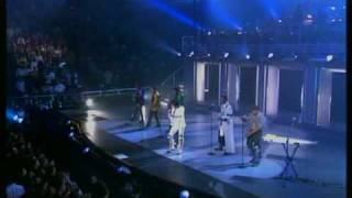 Michael Jackson & Jackson 5 - I'll Be There - Madison Square Garden 2001 (Good quality)
