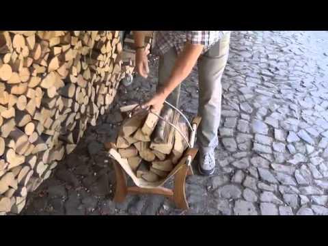 Entdecken Sie jetzt ganz neu den Holzkorb Bobby aus Holz, Edelstahl und Leder