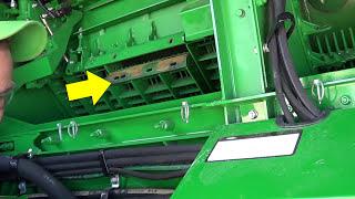 John Deere Combine GoHarvest: Concave installation on MY15 S Combine equipped with ACI