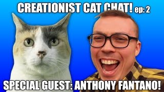 Creationist Cat Chat with Anthony Fantano!