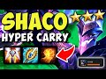 Shaco with 6 dark stars is insanely strong!   shaco tft build   teamfight tactics   shaco hypercarry