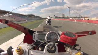 preview picture of video 'GoPro : Triumph Daytona 675 Hockenheim On Board'