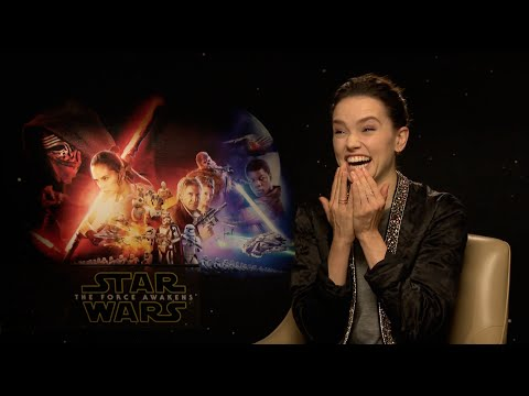 Daisy Ridley talks Star Wars and staring at people on public transport!