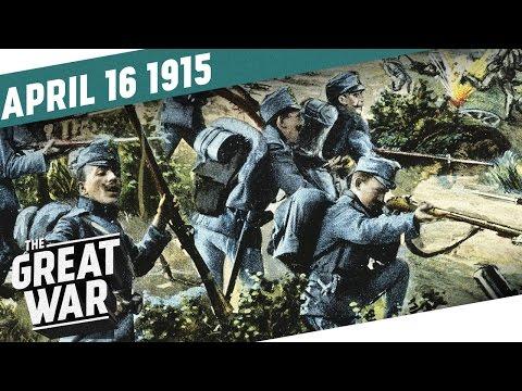 Německo zachraňuje Rakousko-Uhersko - Velká válka