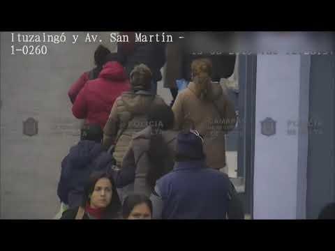 Video: Un prófugo detenido por la cámara de reconocimiento facial