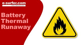 How to minimise a thermal runaway - Fire-resistant case for high energy lithium ion batteries