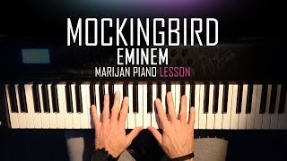 How To Play: Eminem - Mockingbird | Piano Tutorial Lesson + Sheets