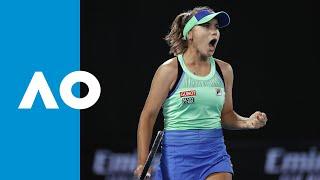 Sofia Kenin vs Garbiñe Muguruza - Match Highlights | Australian Open 2020 Final