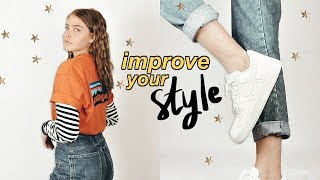 how to make your basic clothes look cute