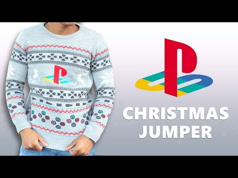 Sony PlayStation One PS1 Christmas Jumper - Official Merchandise