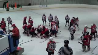Детский хоккей - драка по-взрослому