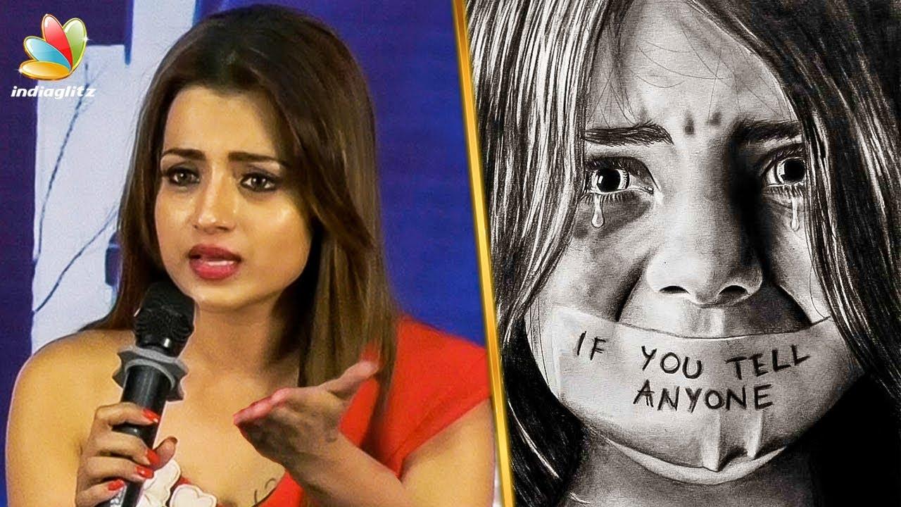 Heartbreaking : Trisha speech on Chennai Child Sexual Abuse | Mohini Tamil Movie