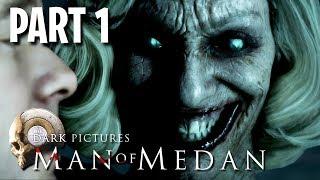 Man of Medan Co-Op Scary Game w/ My Girlfriend!! (Man of Medan, Part 1)
