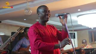 K1 DE ULTIMATE PREACHES PEACE AND CONTENTMENT AT R & A HOTEL, IKEJA