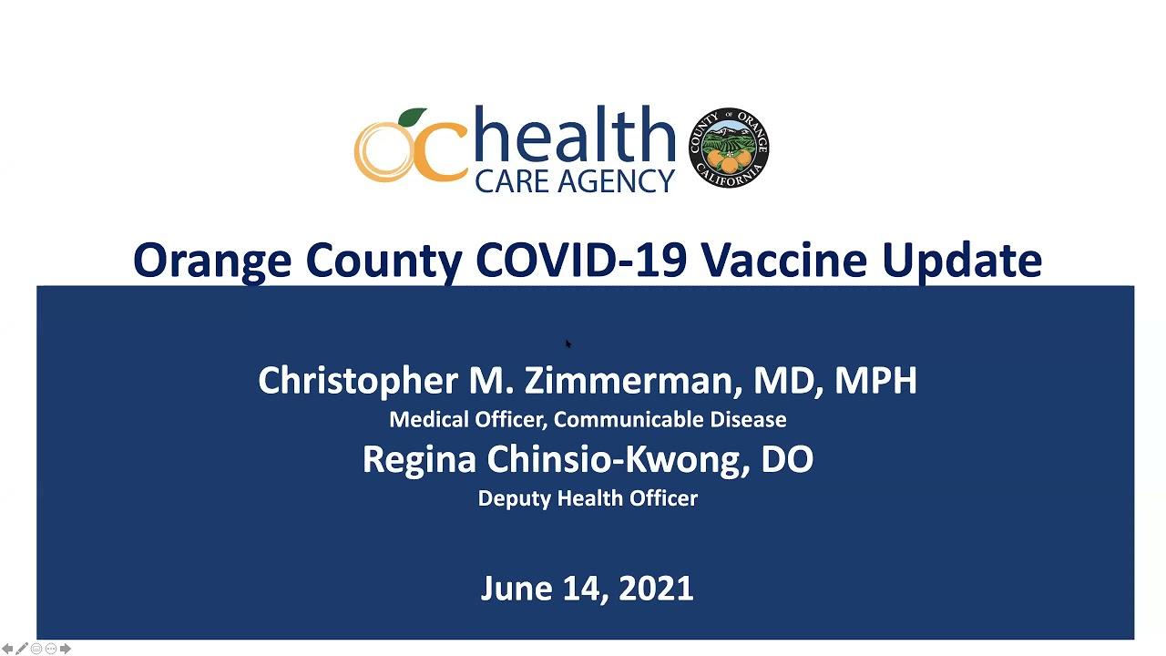 OCHA COVID 19 and Vaccine Info Webinar video thumbnail