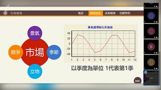 【Jitsi線上協同教學】2020/04/10 RMG銷售觀點決策 (中國科大觀光系)