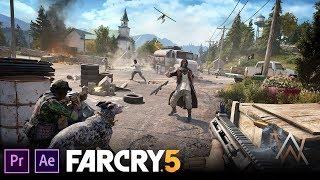 Far Cry 5 Creative Stealth Kills |Alan Walker   See Your Face|