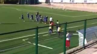 preview picture of video '22-10-2012 - Allievi Regionali girone B Toscana. Gol su calcio d'inizio!'