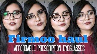 FIRMOO HAUL || Affordable Eyeglasses Haul