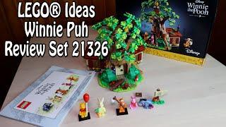 Review LEGO Winnie Puh (Ideas Set 21326 Winnie the Pooh)