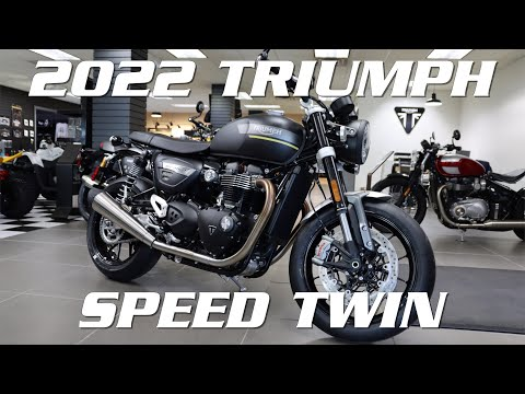 2022 Triumph Speed Twin in Enfield, Connecticut - Video 1