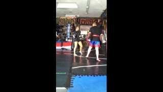 Mercedes Ashley Muay Thai/Kickboxing/MMA With Trainer Alan Florez (part 2)