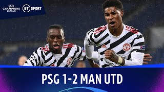 PSG v Manchester United (1-2) | Champions League Highlights تحميل MP3