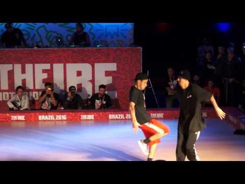 BBOY KLESIO vs BBOY LUAN - The Notorious IBE Brazil 2016