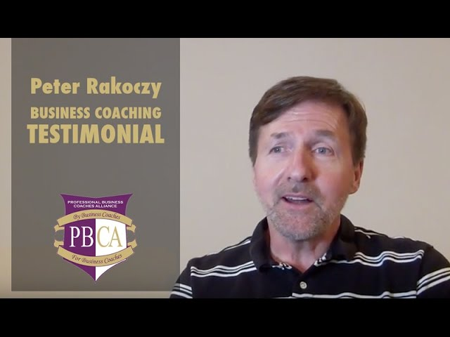 Peter Rakoczy | Business Coaching Testimonial