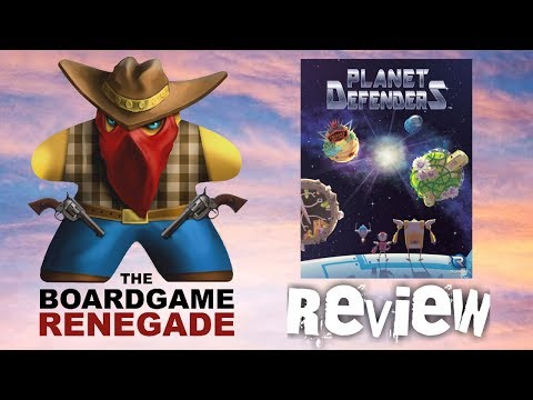 Planet Defenders Board Game Review