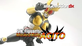 S.H. Figuarts Masked Rider Agito (Renewal) Toy Review - CollectionDX