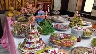 Manjal Neerattu Vizha Seer Varisai Thattu Special Plates Decorations By RB3 Creations 7401241066