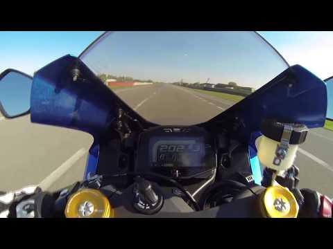 2017 Suzuki GSX-R 1000 R Onboard 0-299 km/h - zampa1973 - Video